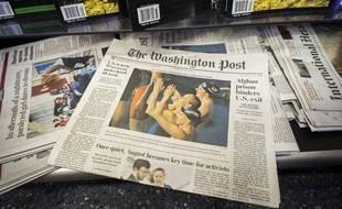 Le Washington Post daté du 5 août 2013.