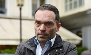 L'écrivain Yann Moix à Paris, en novembre 2013.