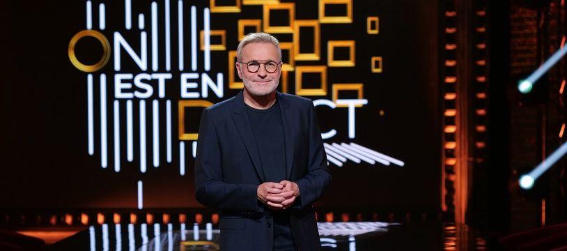 Laurent Ruquier sur le plateau d'On est en direct.