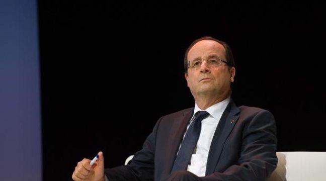François Hollande, le 3 décembre 2013. –  LCHAM/SIPA