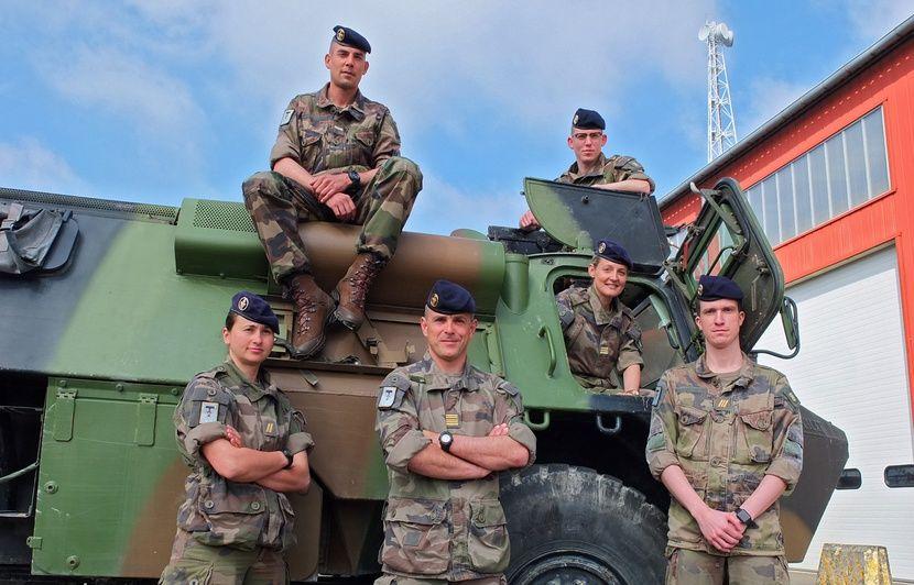 Douai: Une centaine de militaires du 41e RT en route pour l'opération Barkhane