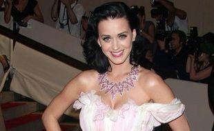 Katy Perry arrive au gala du Costume Institute, au Metropolitan Museum of Art de New York, le 3 mai 2010.