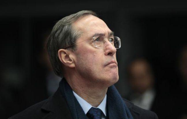 Le ministre de l'Intérieur, Claude Guéant, le 1er janvier 2012, à Metz (Moselle).