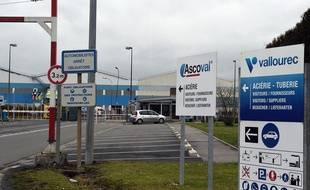 L'aciérie Ascoval, à Saint-Saulve, dans le Nord.