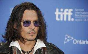 Johnny Depp en septembre 2012.