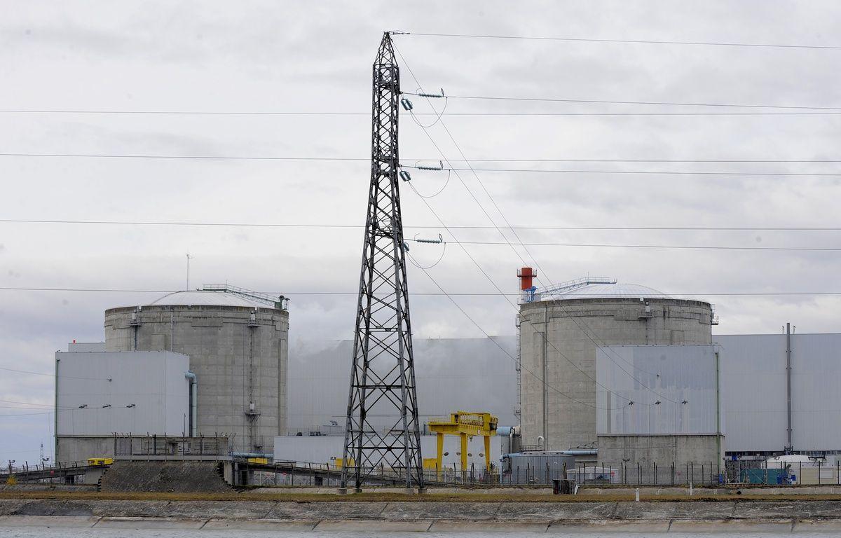 Illustration de la centrale nucléaire de Fessenheim. Le 20 11 2008 – G. VARELA / 20 MINUTES
