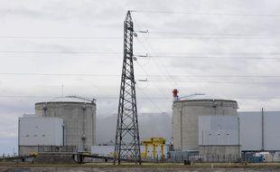 Illustration de la centrale nucléaire de Fessenheim. Le 20 11 2008