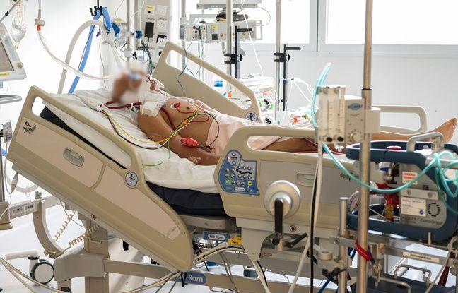 648x415 un patient covid 19 en reanimation sous assistance respiratoire a marseille