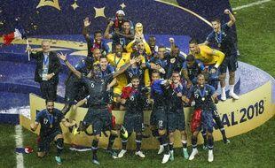 le 15 juillet 2018, la France était championne du monde de foot.