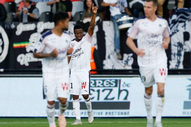 Kamano est actuellement le 2e meilleur réalisateur de la Ligue 1 avec 4 buts.