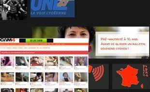 Le site du syndicat lycéen Fidl piraté, le 18 octobre 2013.