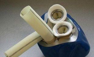 Un prototype de cœur artificiel, conçu par l'entreprise biomédicale Carmat