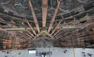 Les cloches de la cathédrale de Strasbourg (Bas-Rhin) ont sonné onze minutes à 11h ce dimanche. Illustration