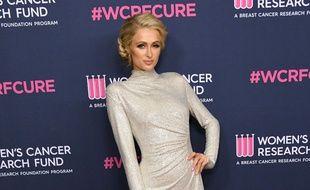 La star de télé-réalité Paris Hilton