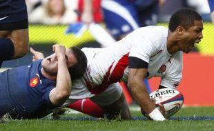 Delon Armitage peut être heureux, l'Angleterre a puni la France 34-10 le 15 mars 2009.