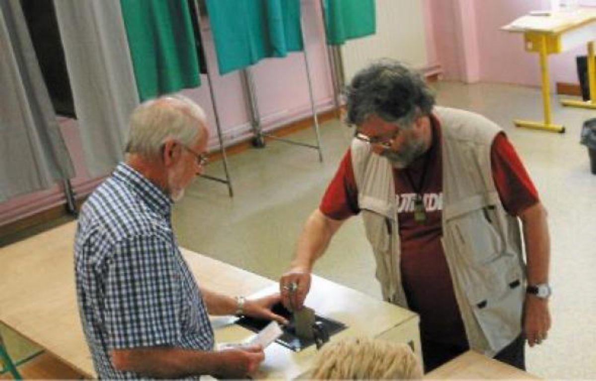 Contrairement au 6 mai, on n'a pas fait la queue dimanche dans les bureaux de vote. –  c. castieau / 20MINUTES