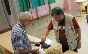 Contrairement au 6 mai, on n'a pas fait la queue dimanche dans les bureaux de vote.