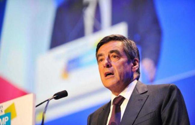 François Fillon lors des journées parlementaires de l'UMP àSaint-Cyr-sur-Loire, le 14 octobre 2011.