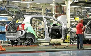L'usine Toyota d'Onnaing.