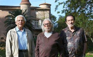Roland Giraud, Pierre Richard et Eddy Mitchell dans Les vieux fourneaux de Christophe Duthuron.
