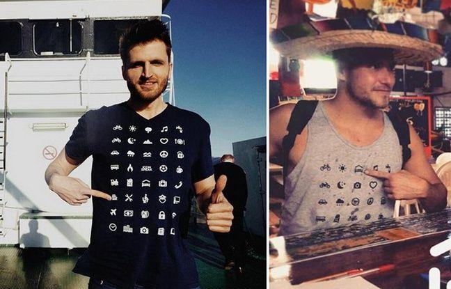 IconSpeak, le tee-shirt à mettre entre les mains de tous les baroudeurs.