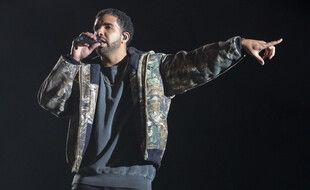 Le rappeur Drake