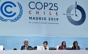 Séance de clôture de la COP25 (photo d'illustration)
