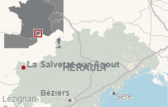 Salvetat-sur-Agoût dans l'Hérault.