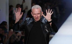 Le couturier Jean Paul Gaultier.