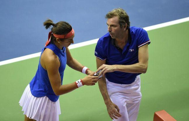 Bonne nouvelle: Caro Garcia de nouveau convoquée pour la demi-finale de Fed Cup