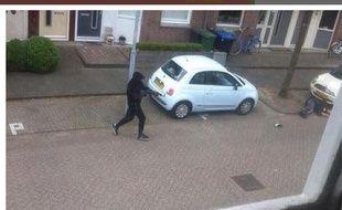 Capture d'écran du site http://www.dichtbij.nl/ sur l'agresseur à Zaandam, le 9 juin 2015.