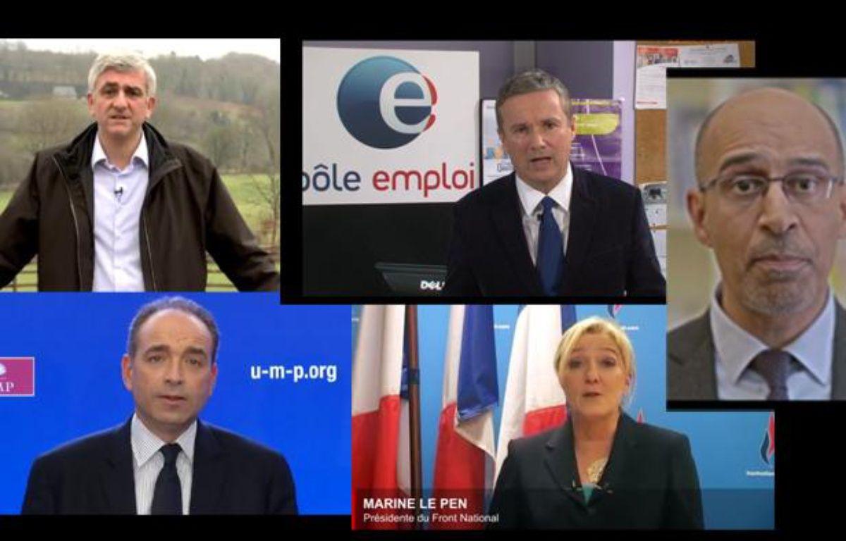 Les voeux pour l'année 2013 des élus aux Français. – Capture d'écran 20 Minutes
