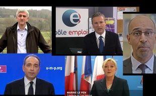 Les voeux pour l'année 2013 des élus aux Français.