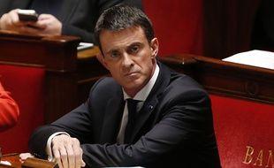 Manuel Valls à l'Assemblé nationale le 9 décembre 2015.
