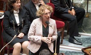 La ministre du Travail Muriel Pénicaud à l'Assemblée nationale le 12 juillet 2017.