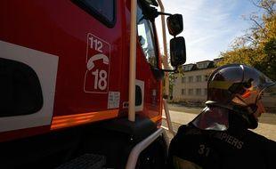 Lors d'une interventions des sapeurs-pompiers du SDIS 31 à Toulouse.