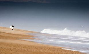 Une plage du Sud-ouest, dans les Landes (illustration)