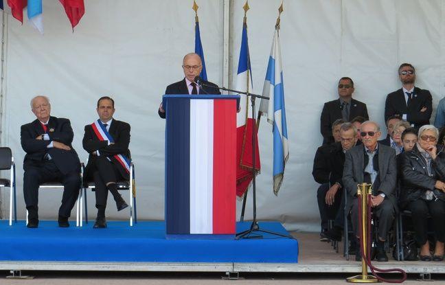 Le ministre de l'Intérieur Bernard Cazeneuve a réaffirmer son soutien à la police nationale.
