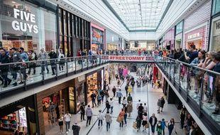 L'Arndale, centre commercial de Manchester, où s'est déroulé l'attaque
