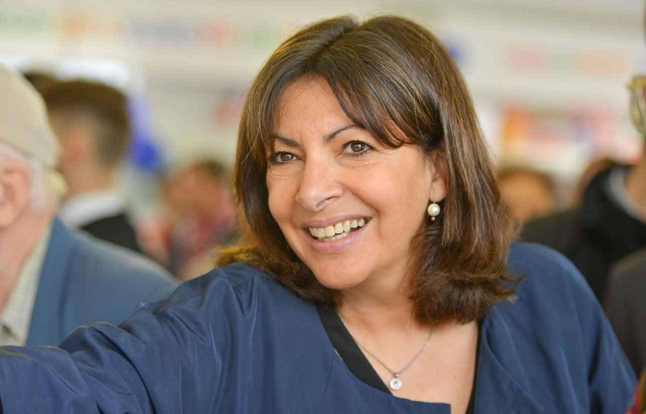 anne hidalgo est la femme politique la plus populaire. Black Bedroom Furniture Sets. Home Design Ideas