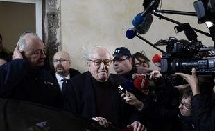 Jean-Marie Le Pen à Versailles le 11 décembre 2017.