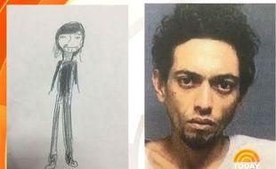Ce portrait réalisé par une jeune fille de 11 ans a permis à la police de retrouver un cambrioleur en série.
