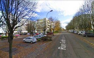 Le lieu du crime, à Saint-Quentin.