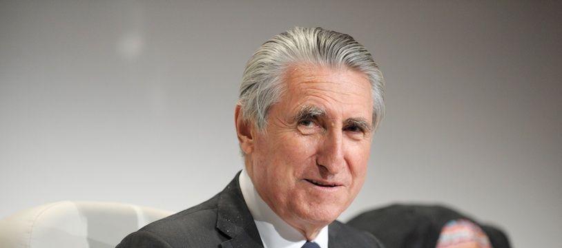 Le baron Ernest-Antoine Seillière en juin 2012