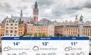 Météo Lille: Prévisions du jeudi 4 juin 2020