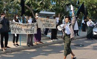 Les appels à résister se multiplient, quatre jours après le coup d'Etat en Birmanie.