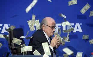 Sepp Blatter à Zurich le 20 mai 2015.