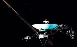 Image non datée de la sonde Voyager 1, lancée en 1977.