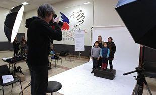 La famille Routel passe devant l'objectif pour Les portraits du cœur.