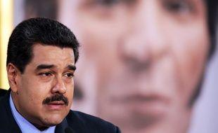 Le président du Venezuela Nicolas Maduro le 17 février 2016.